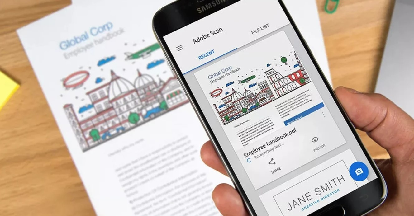 Best 9 free applications to scan documents with your mobile