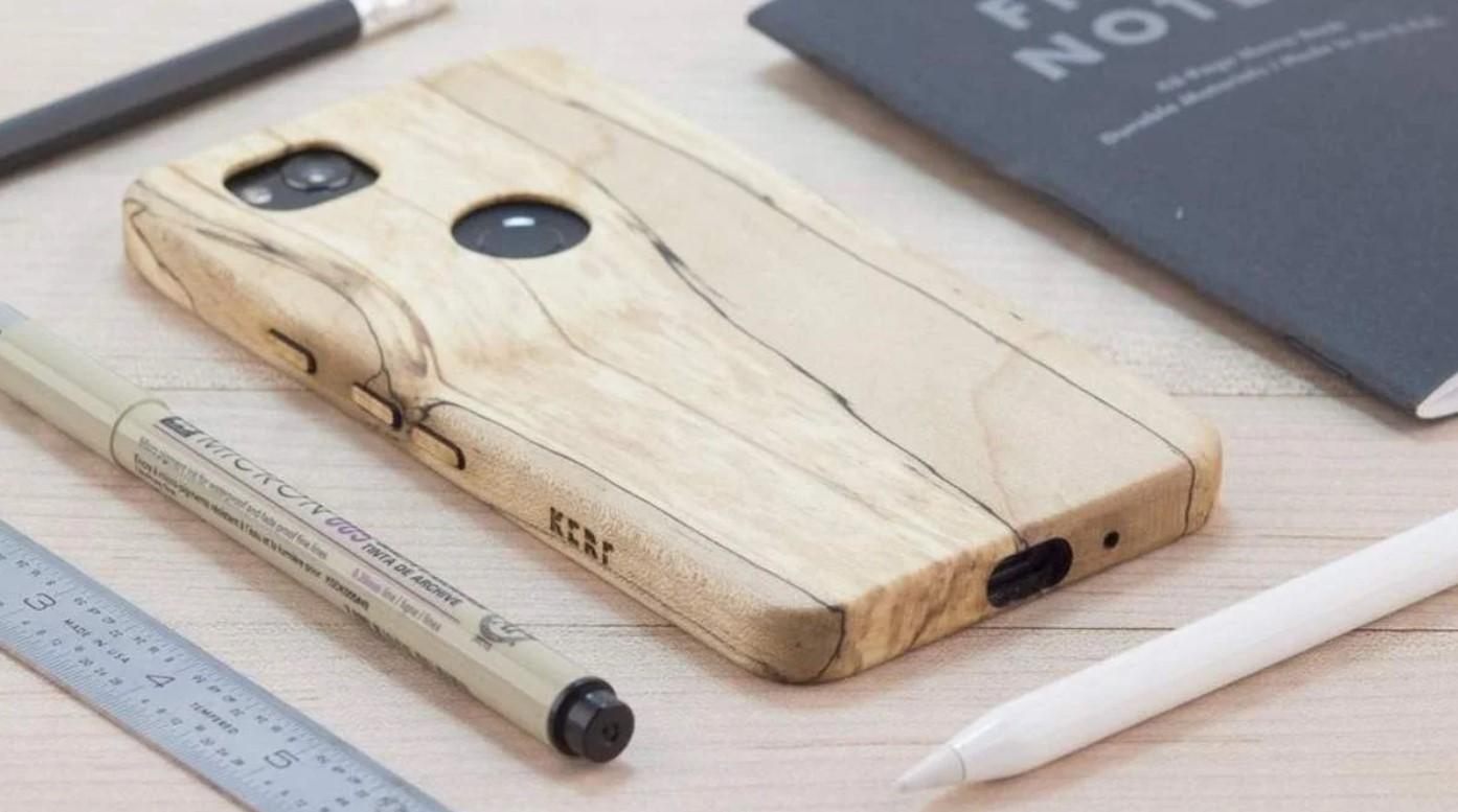 Clean wooden case