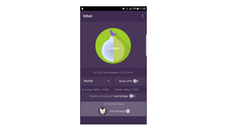 Connect to Tor on your Android with Orbot step2
