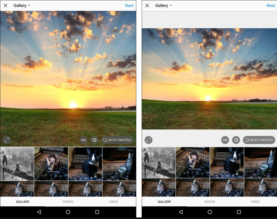 Dont let Instagram crop your photo