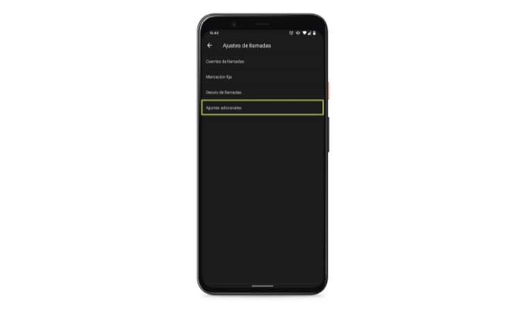 Hide phone number from settings step4