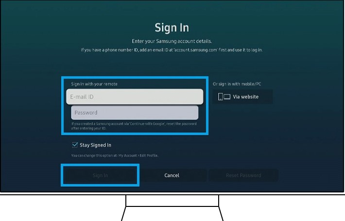 How to Connect Samsung TV to Alexa device Step 3