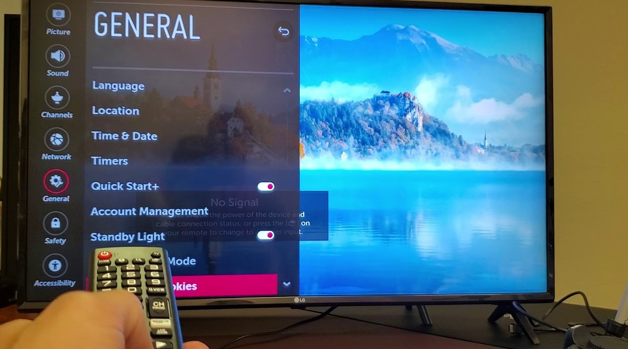 How to Reset LG Television