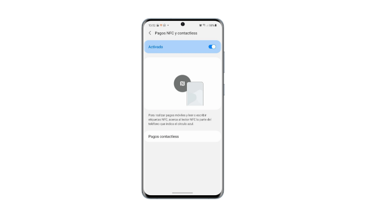 How to activate NFC on your Android mobile step3