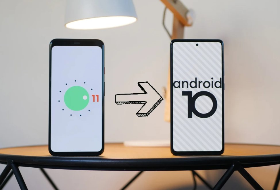 How to downgrade to an older version of Android