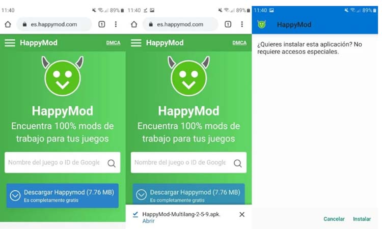 How to download and install HappyMod for free