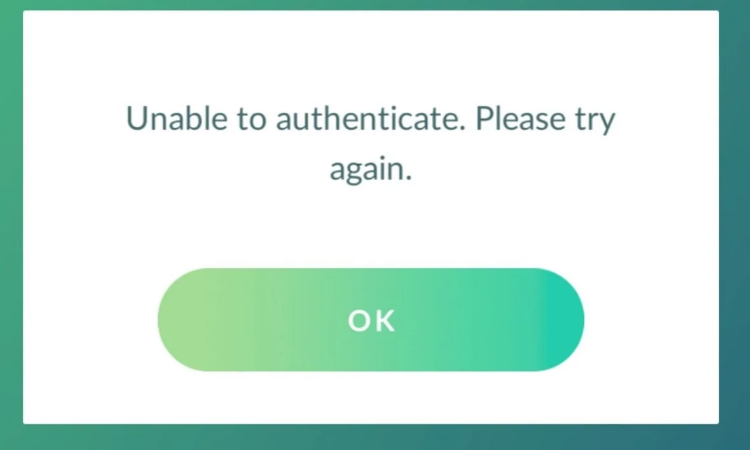 How to fix Pokemon GO cant authenticate problem