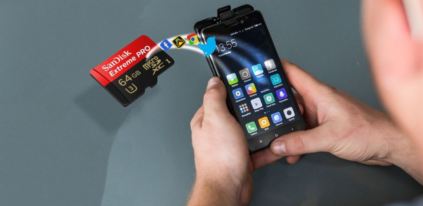 How to move photos from your mobile to the microSD card 1