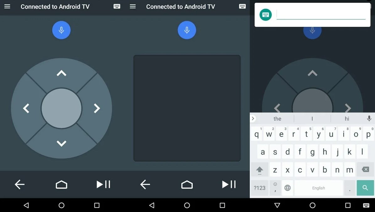 How to use your mobile as a keyboard for your television with Android TV and other systems2