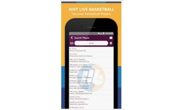 Just live basketball