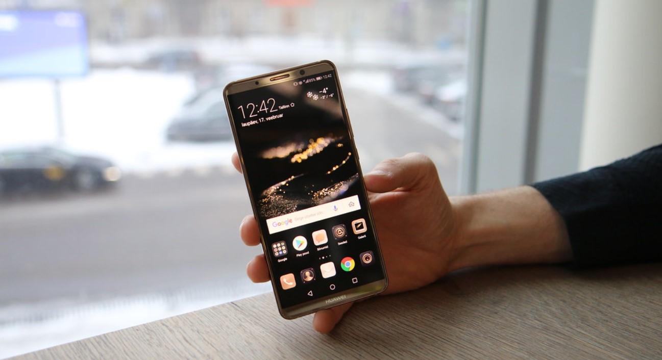 Lock on Huawei mobile