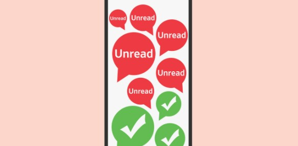 Our contacts will not know that we have read their messages