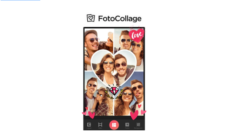 PhotoCollage step1