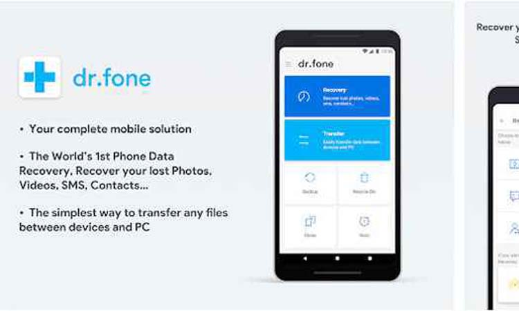 Recover mobile videos from PC with dr.Fone