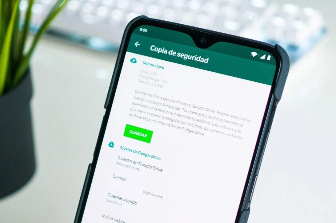 Restaurar los mensajes de una copia de Google Drive