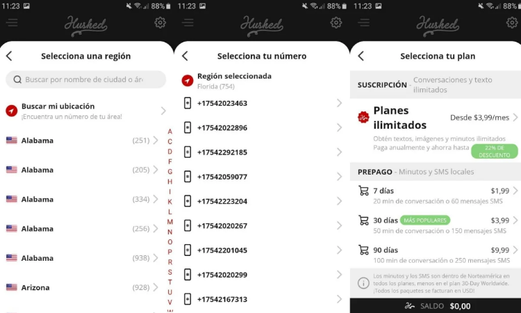 So you can create a virtual number for WhatsApp 1