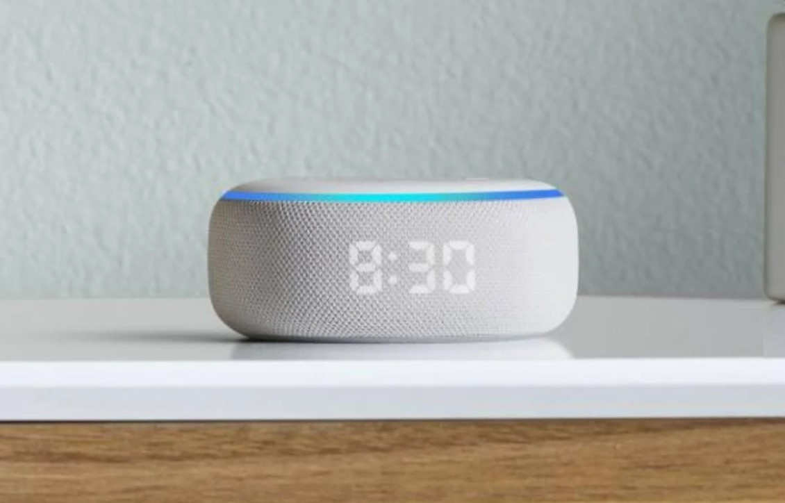 So you can listen to music or YouTube videos with Alexa and the Amazon Echo