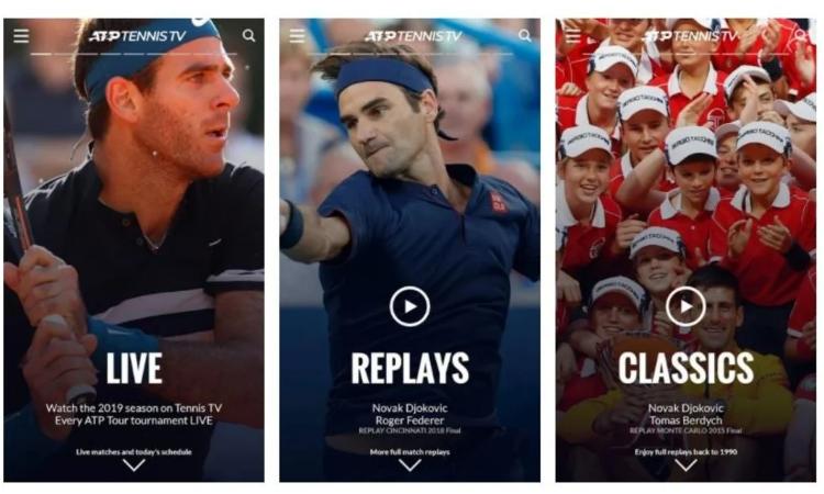 Tennis TV Live ATP broadcast