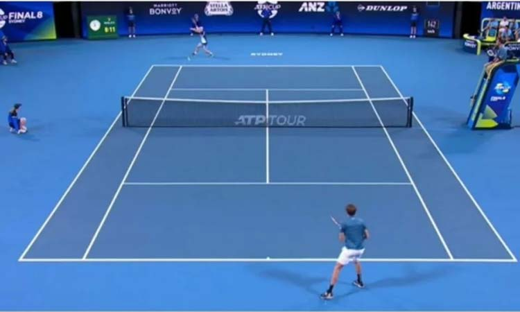 Tennis streaming app