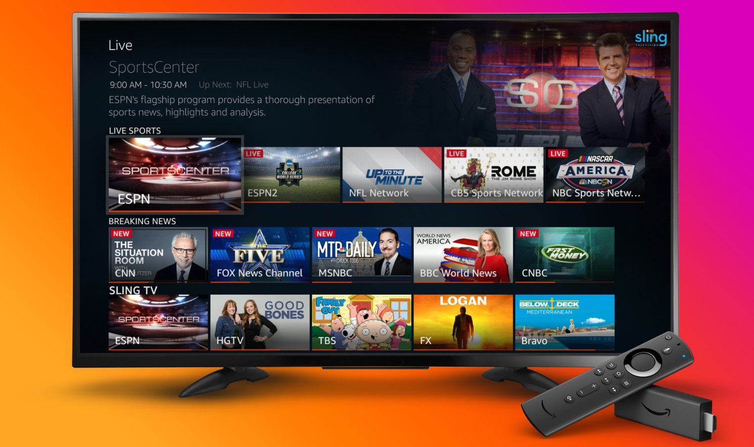 Use Third party Applications on Fire Stick With Similar Content as Hulu