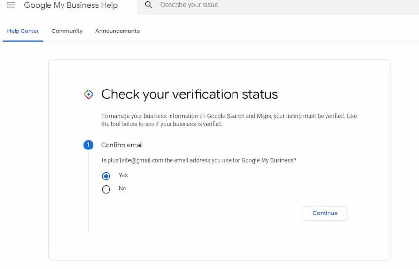 Verify the Google Servers status