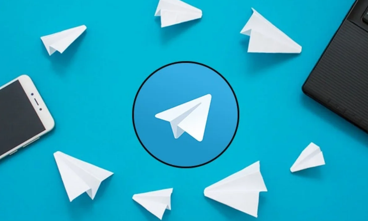 What copies are distributed through Telegram magazine channels