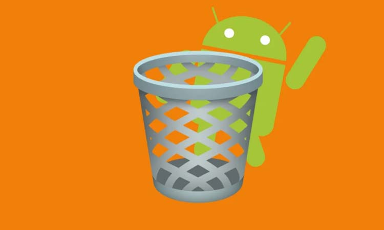 Where is the trash on Android It does not exist but there are alternatives