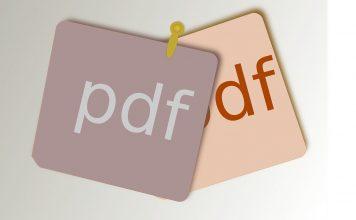 Restricting PDF editing